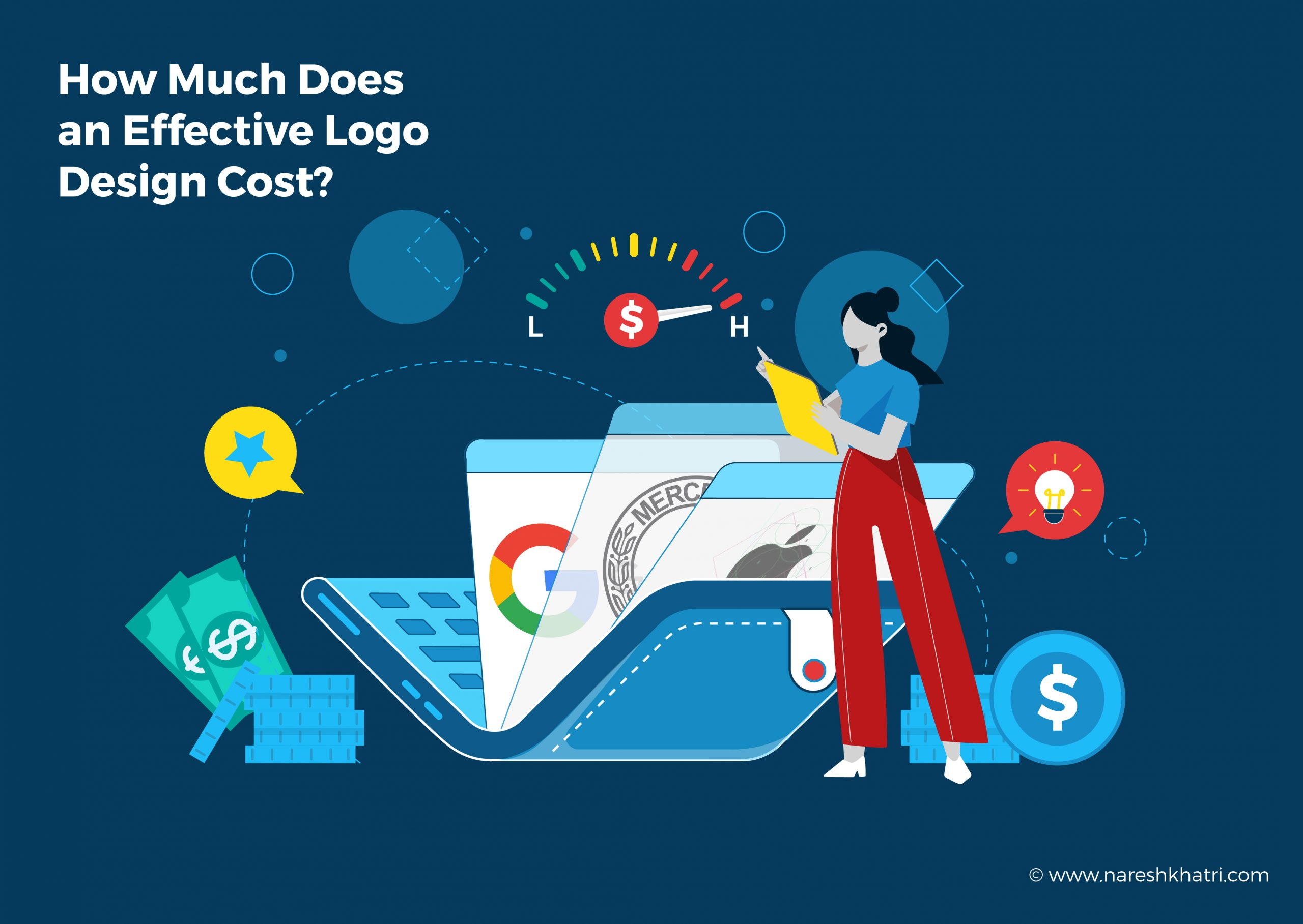 How Much Does an Effective Logo Design Cost?